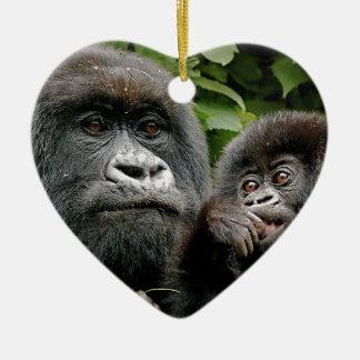 Gorilas del Ugandan Adorno