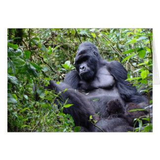 Gorilas Rwanda Felicitaciones