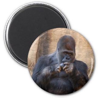 Gorilla_001 2 Inch Round Magnet