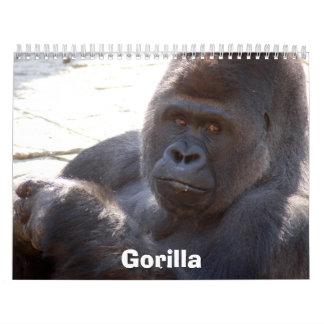 Gorilla_004, gorila calendarios