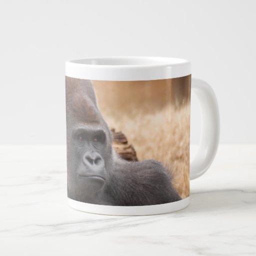Gorilla_012 20 Oz Large Ceramic Coffee Mug