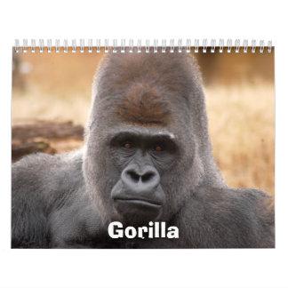 Gorilla_018, gorila calendarios