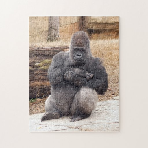 Gorilla_019 Rompecabeza