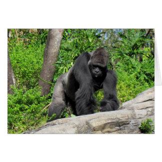 Gorilla (0536) Greeting Card