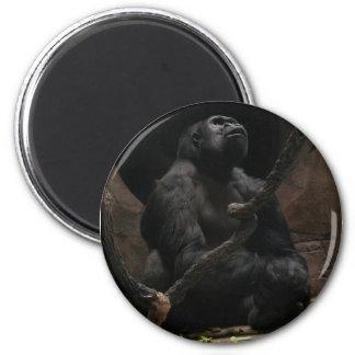 Gorilla 2 Inch Round Magnet