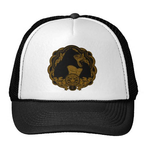 Gorilla 2 mesh hat