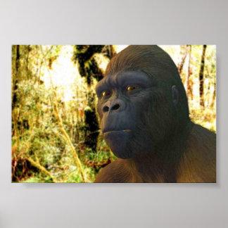 Gorilla 2 print