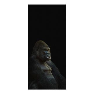 gorilla-625286 THOUGHTFUL GORILLA WILD ANIMAL DIGI Rack Card