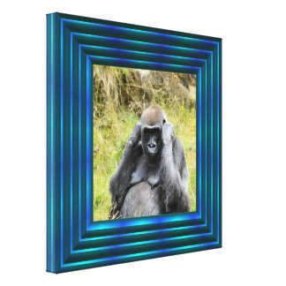 gorilla 7152 canvas print