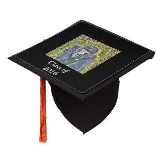 gorilla 715 graduation cap topper