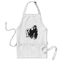 Gorilla Adult Apron