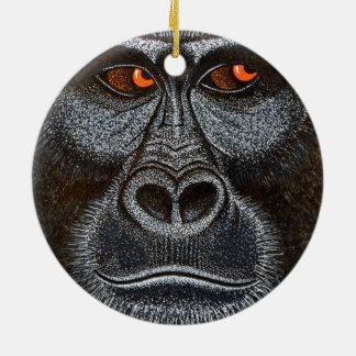 Gorilla and Cheetah Ornament