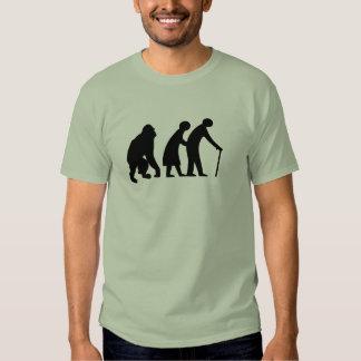 Gorilla and elderly couple t-shirt