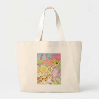 Gorilla and the gang! canvas bags