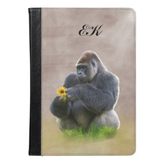 Gorilla and Yellow Daisy, Monogram
