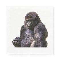 Gorilla Ape Monkey Paper Napkin