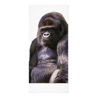 Gorilla Ape Monkey Rack Card