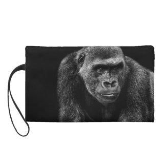 Gorilla Ape Primate Wildlife Animal Photo Wristlet Purse
