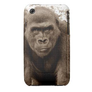 Gorilla Ape Primate Wildlife Animal Photo Case-Mate iPhone 3 Case