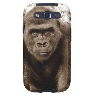 Gorilla Ape Primate Wildlife Animal Photo Galaxy S3 Cover