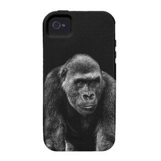 Gorilla Ape Primate Wildlife Animal Photo iPhone 4 Cases