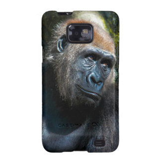 Gorilla Ape Primate Wildlife Animal Photo Samsung Galaxy S2 Cases