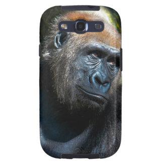 Gorilla Ape Primate Wildlife Animal Photo Samsung Galaxy S3 Covers