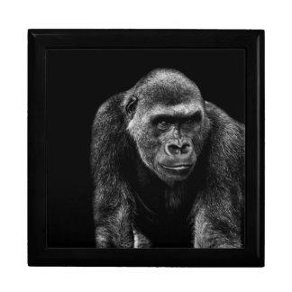 Gorilla Ape Primate Wildlife Animal Photo Gift Box