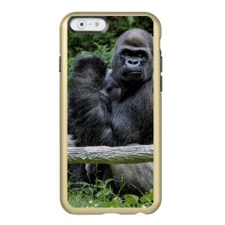 Gorilla Ape Primate Wildlife Animal Photo Incipio Feather Shine iPhone 6 Case