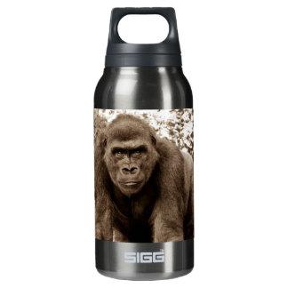 Gorilla Ape Primate Wildlife Animal Photo Insulated Water Bottle