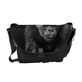 Gorilla Ape Primate Wildlife Animal Photo Messenger Bag