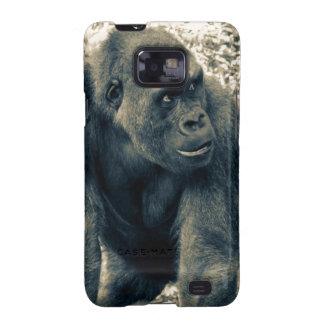 Gorilla Ape Primate Wildlife Photo Samsung Galaxy SII Covers