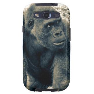 Gorilla Ape Primate Wildlife Photo Samsung Galaxy SIII Case