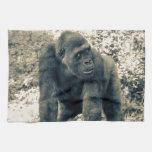 Gorilla Ape Primate Wildlife Photo Hand Towel