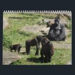 "Gorilla as calendars<br><div class=""desc"">Endangered animals</div>"