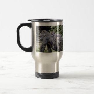 Gorilla Baby & Mom Piggyback Travel Mug