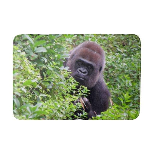 Gorilla Bath Mat Zazzle