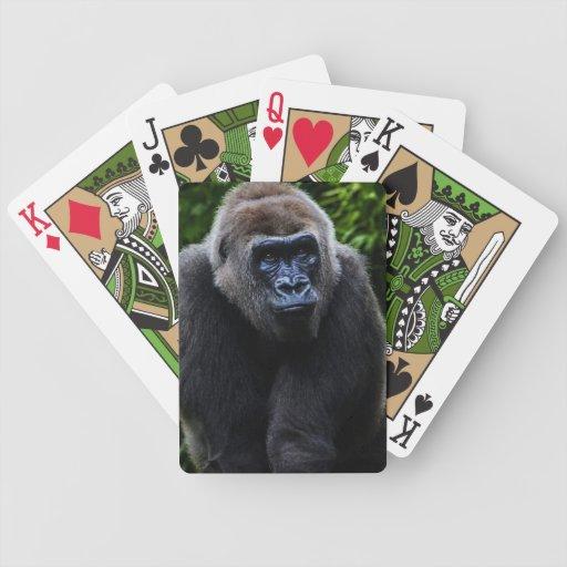 Gorilla Bicycle Poker Deck