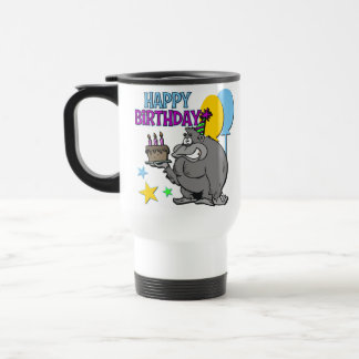 Gorilla Birthday Gift Travel Mug