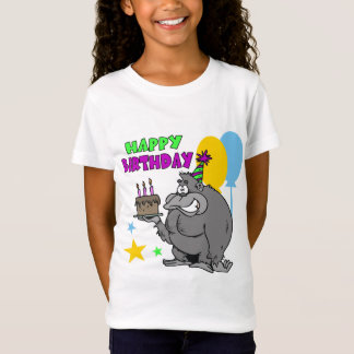 Gorilla Birthday T-Shirt