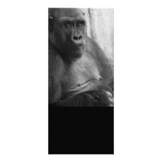 gorilla bookmark custom rack card