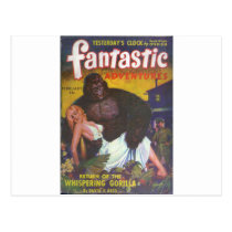 Gorilla Boyfriend Postcard