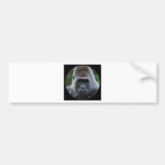 """Gorilla"" Bumper Sticker"