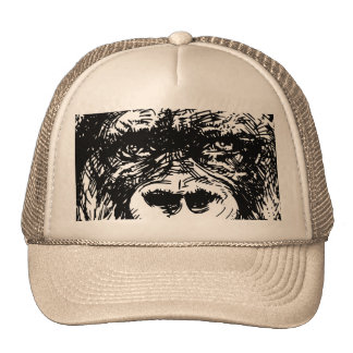 Gorilla cap trucker hat