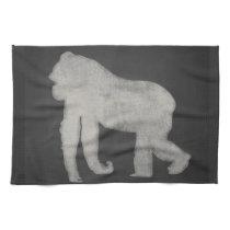Gorilla Chalkboard Kitchen Towel