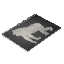 Gorilla Chalkboard Notebook