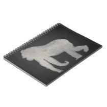Gorilla Chalkboard Spiral Notebook