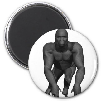 Gorilla Charge 2 Inch Round Magnet