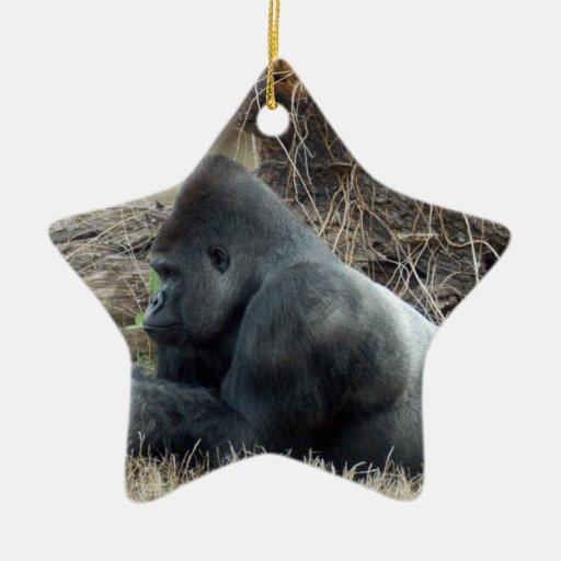 Gorilla Christmas Ornament