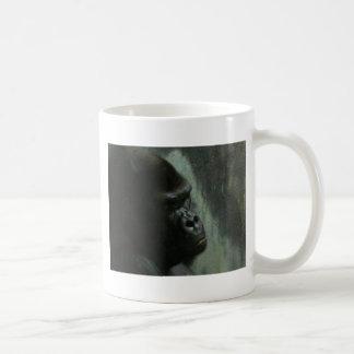 gorilla classic white coffee mug